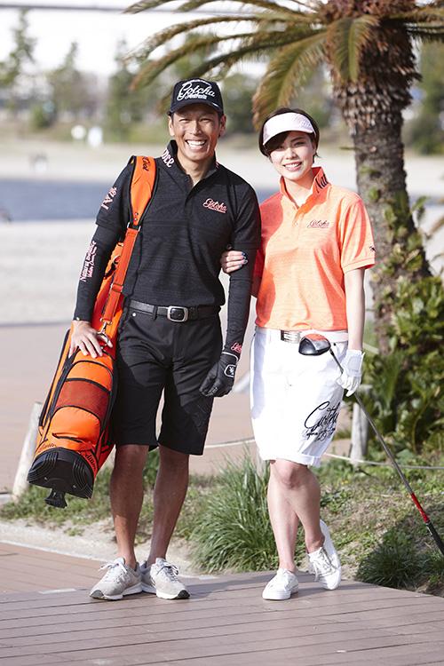 ゴルフファッション・モデル撮影