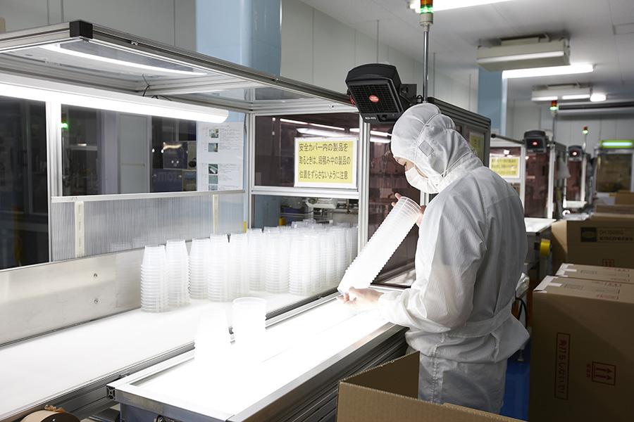 プラスティック製品工場
