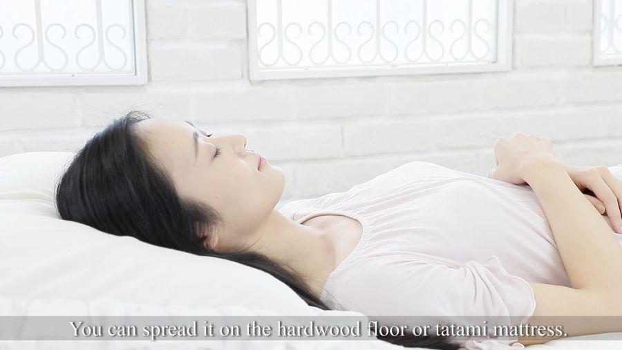 敷き布団イメージ動画